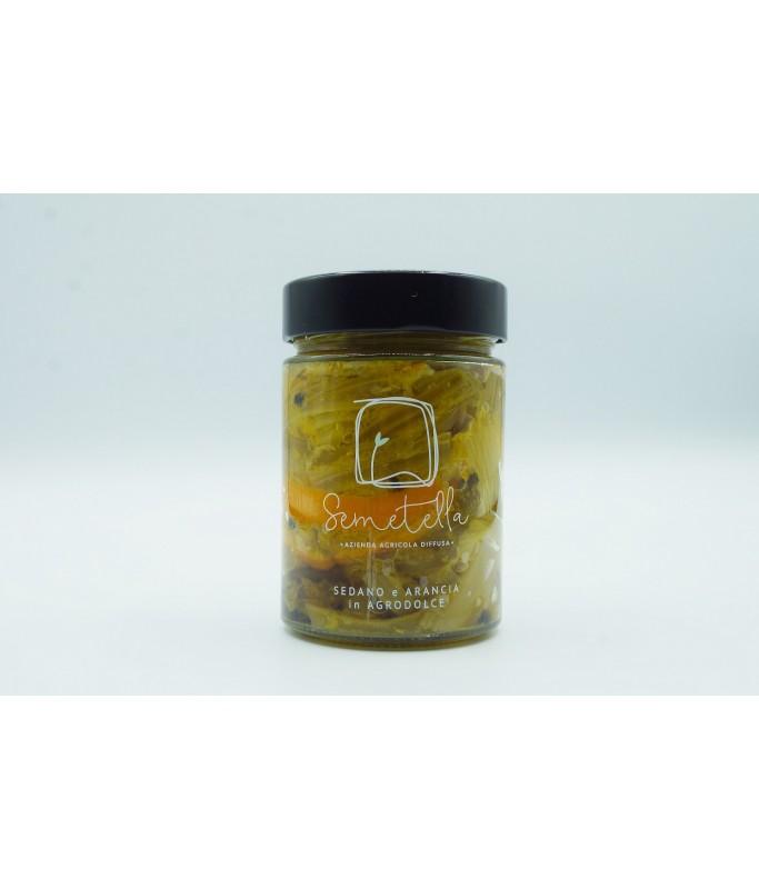 Sedano e arancia in agrodolce Home A - SEA 7,00€